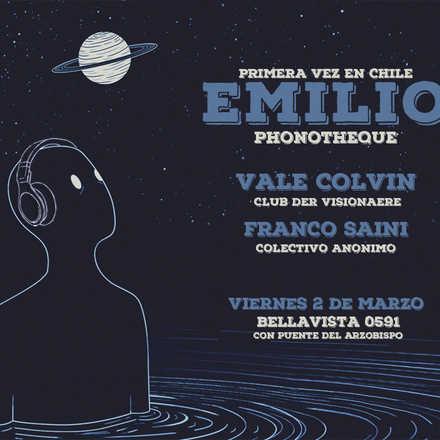 Colectivo Anónimo presenta :Emilio: (uy). Primera vez en Chile