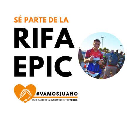 RIFA EPIC #VAMOSJUANO