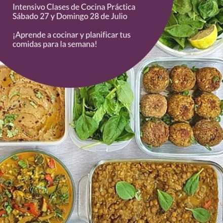 Intensivo Julio: Clase de Cocina para la Planificación Semanal #plandejavi