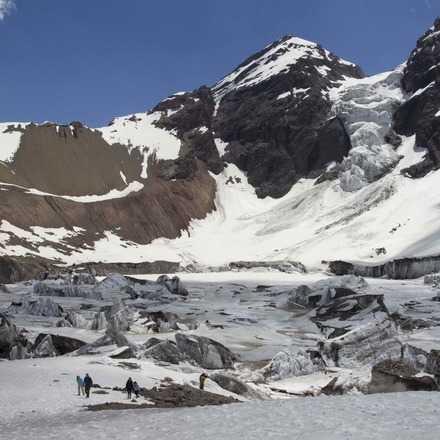 Glaciar Colgante del Morado