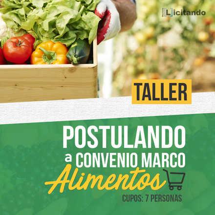 Postulando al Convenio Marco Alimentos - 27 de septiembre