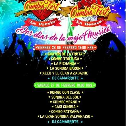 Cumbia Fest - La Combo Tortuga, Sonora Barón y más