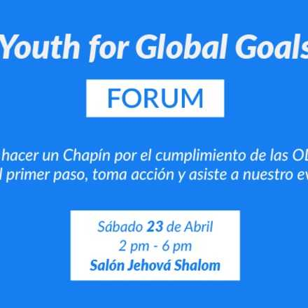 Youth for Global Goals Forum