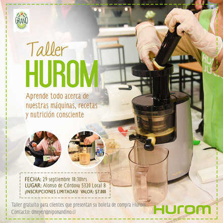 Taller Hurom 29 Septiembre