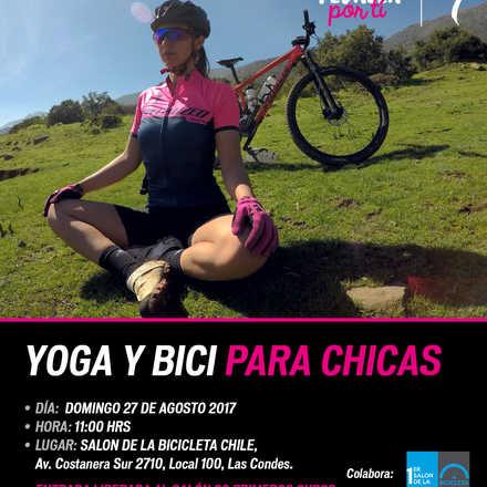 Yoga y Bici, Primer Salón de la Bicicleta