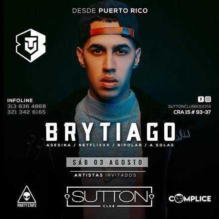 Brytiago en Sutton Club Bogotá