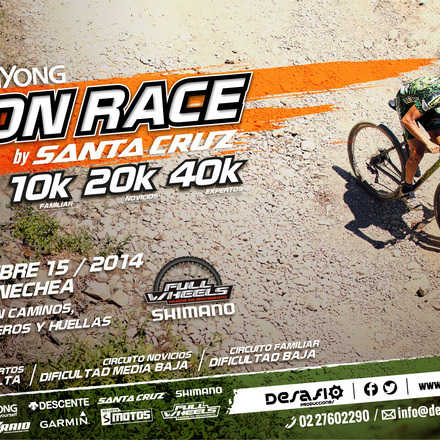 SsangYong Iron Race by Santa Cruz