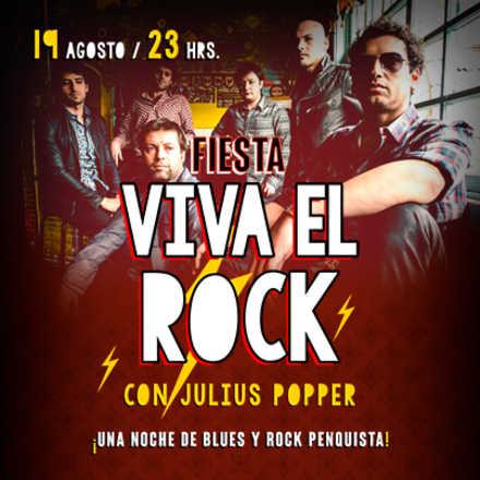 Fiesta Viva el Rock con Julius Popper