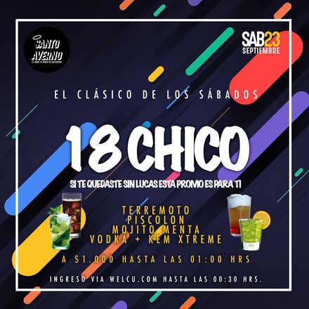 Santo Averno / 18 Chico