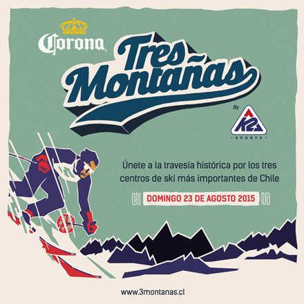 "Cerveza Corona ""3 Montañas"" by K2"