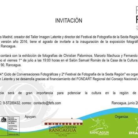 Inauguración Muestra Fotógrafos Regionales Rancagua