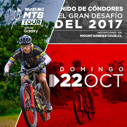Suzuki Mountain Bike Tour by Samsung Galaxy 4ª Fecha 2017