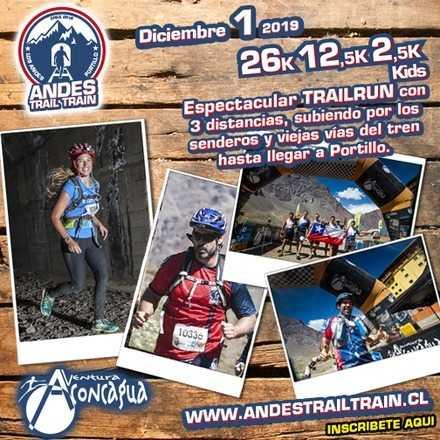 Portillo Andes Trail Train - Diciembre 1 2019