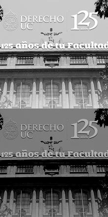 Fiesta Ex-alumnos 125 años Facultad de Derecho