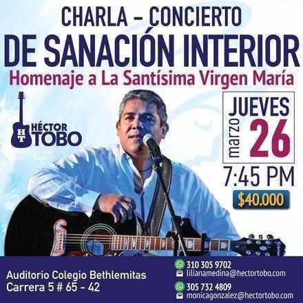 Charla concierto de Sanación Interior