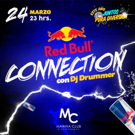 Fiesta RedBull Connection con DJ Drummer