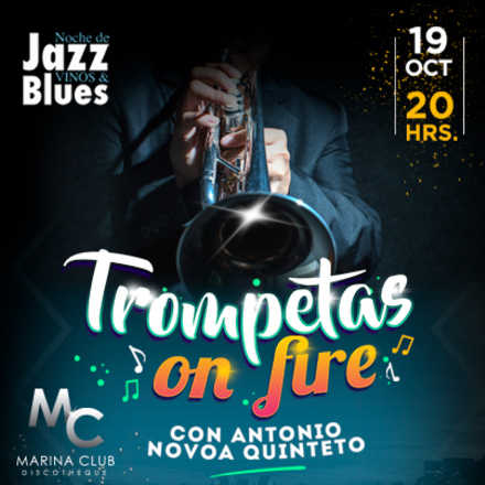 Noche de Jazz, Vinos & Blues con Trompetas on Fire