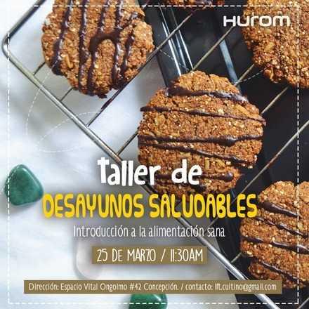 Taller Hurom de Desayunos Saludables - Concepción