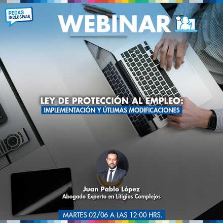 Webinar: Ley de Protección al Empleo: Implementación y útlimas modificaciones
