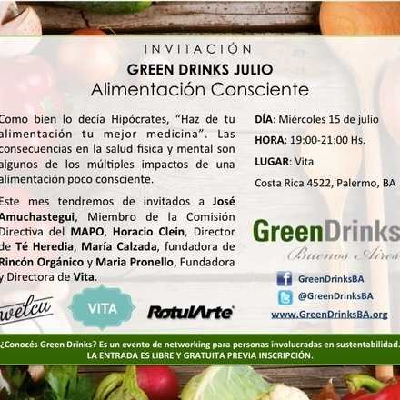 Green Drinks / Alimentación Consciente