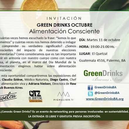 Green Drinks Buenos Aires 11-10 / Alimentación Consciente