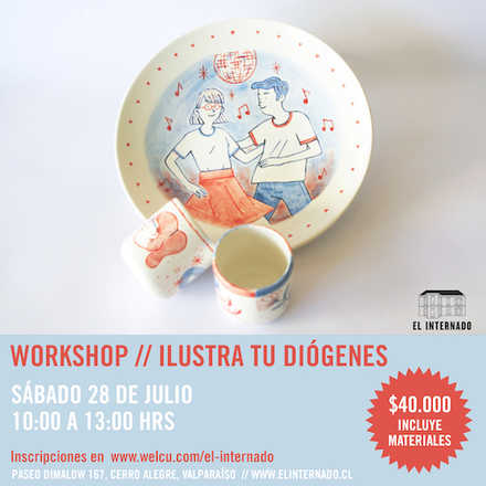 Workshop: Ilustra tu Diógenes