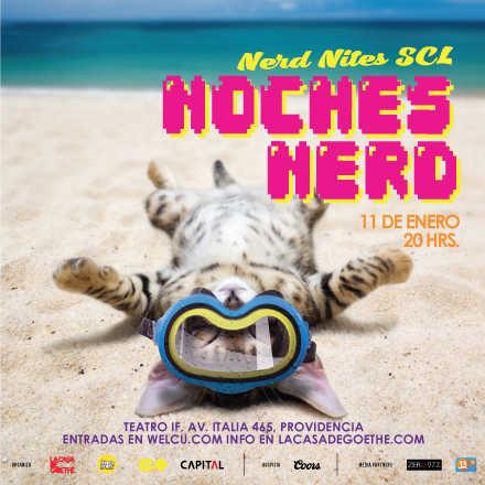 Noche Nerd / Nerd Nite SCL 11 de Enero