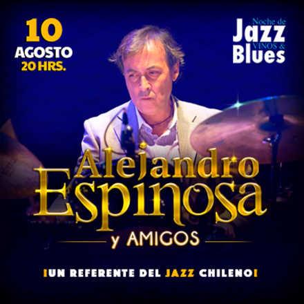 5° Noche de Jazz con Alejandro Espinoza Quinteto