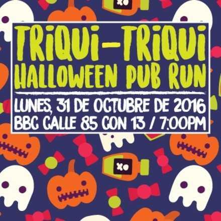 Triqui-Triqui Halloween Pub Run
