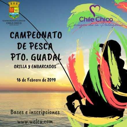 CAMPEONATO DE PESCA PUERTO GUADAL 2019
