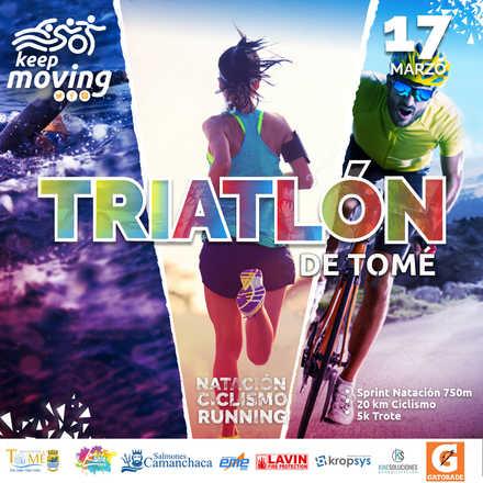 Triatlón Tomé 2019