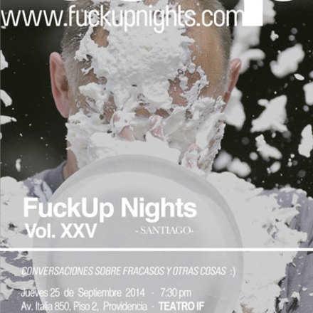 Fuckup Nights Santiago XXV
