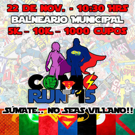 Comic Run Antofagasta 2015