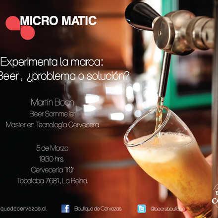 ¡Ven y vive la experiencia Micro Matic!