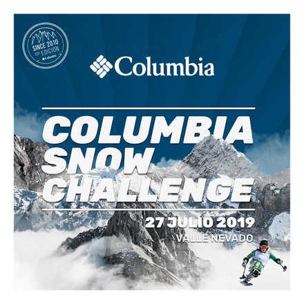 Ski Paralímpico - Columbia Snow Challenge 19'