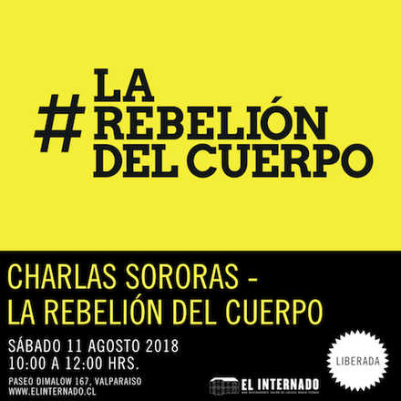 Charlas Sororas - La Rebelión del Cuerpo