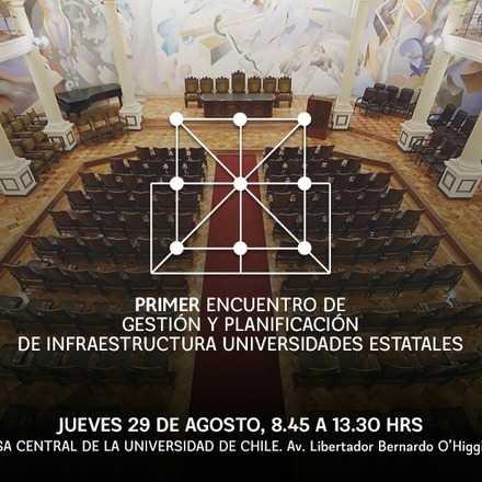 Primer Encuentro de Gestión y Planificación de Infraestructura de las Universidades Estatales