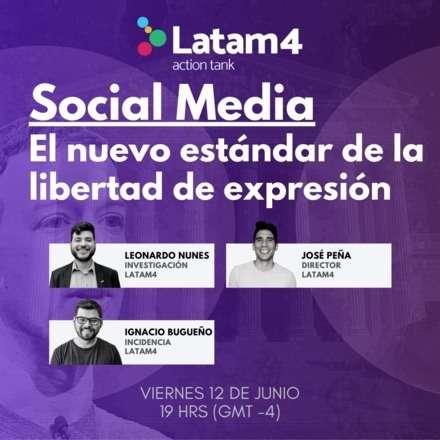 Social Media: El nuevo estándar de la libertad de expresión