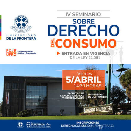 IV Seminario sobre Derecho del Consumo
