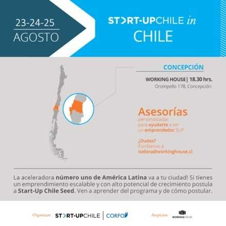 Charla - Taller Start-Up Chile Seed