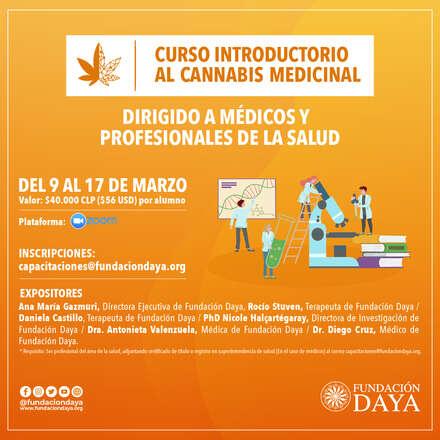 Curso Introductorio al Cannabis Medicinal dirigido a Médicos y Profesionales de la Salud marzo 2021