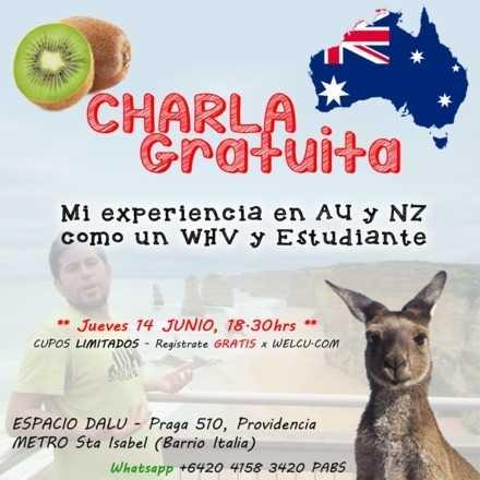 Charla Visa WH/Estudiante en AU y NZ