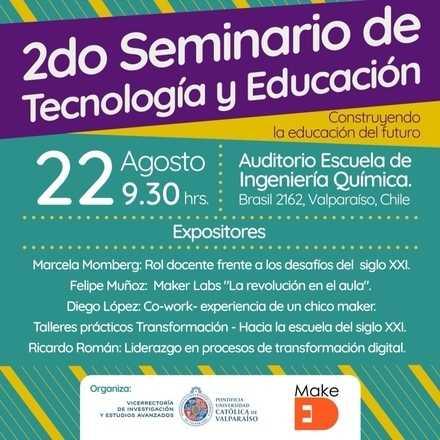 II Seminario de Tecnología y Educación - Charlas MakeED