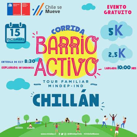CORRIDA TOUR FAMILIAR MIndep IND ÑUBLE 2019 ¨Barrio Activo¨