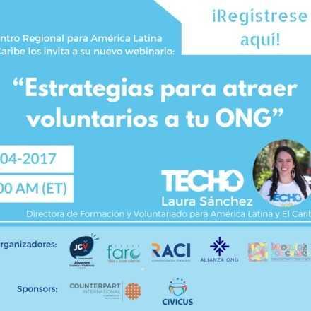Estrategias para atraer voluntarios a tu ONG
