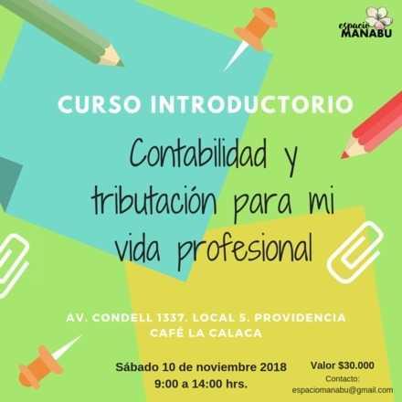 Curso Introductorio: contabilidad y tributación para mi vida profesional