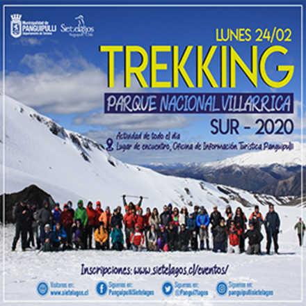Trekking Parque Nacional Villarrica Sur 2020