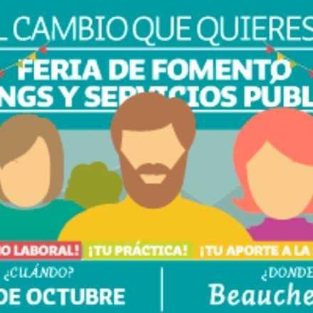 FERIA FOMENTO DE ONGS Y SERVICIOS PÚBLICOS