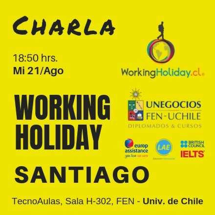 Working Holiday Charla Irlanda Javier Ayala