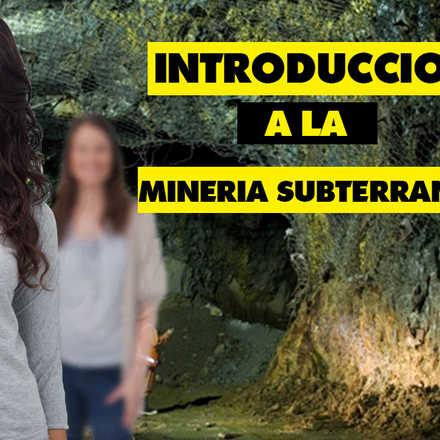 Curso Introduccion a la Mineria Subterranea